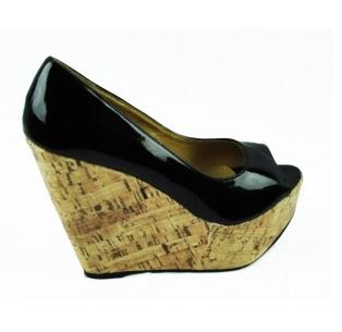 Second Tread Footwear Black Pat