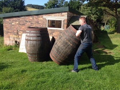 Roll out the barrels in Edinburgh