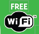 Free WiFi included