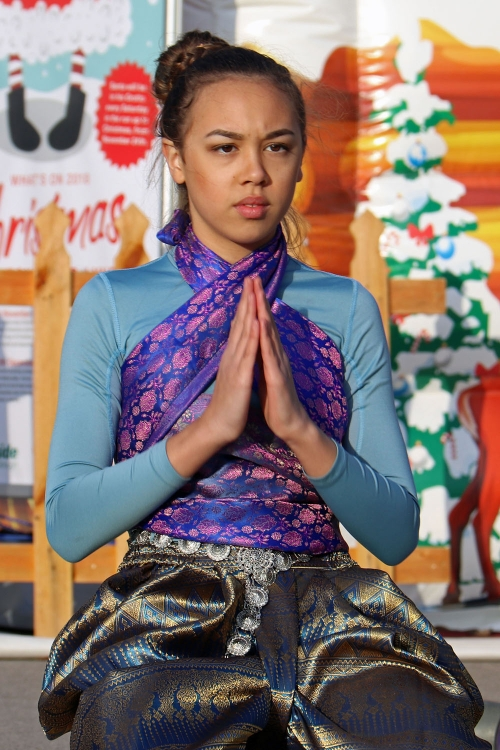 Thai Martial Arts demonstration