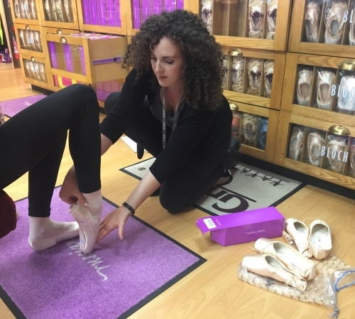 Pointe Shoe Fitting 2017