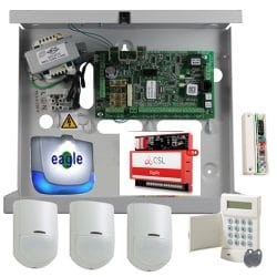 Honeywell G2 Commercial Alarm with Dualcom DigiAir