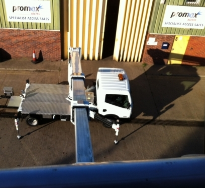 Promax Access New PT225, 22.5m working height and 14m outreach platform