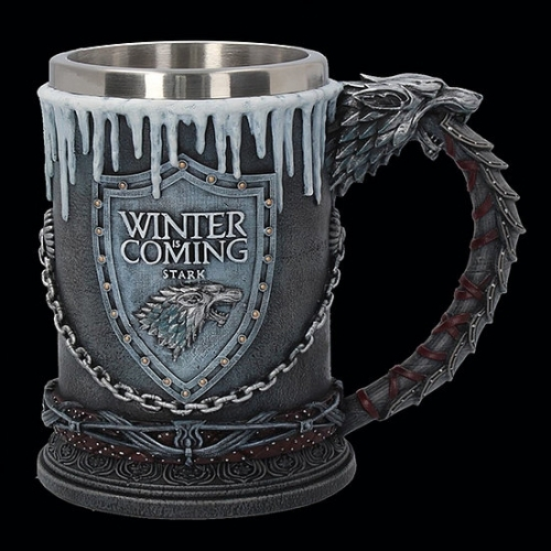 Official HBO Game of Thrones House Stark Tankard