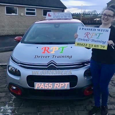 RPT Driver Training Driving Lessons Halifax Naimh Mcguire