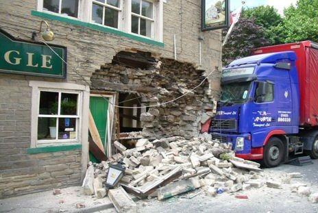 Impact Damage Crash