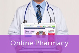 Visit www.oxfordonlinepharmacy.co.uk for online doctor service
