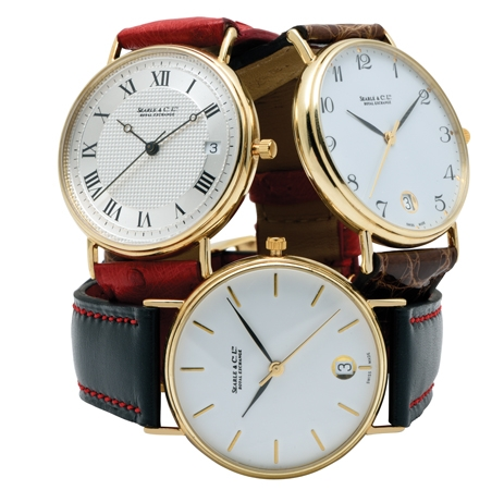 Classic Gold Watches, for Ladies and Gentlemen