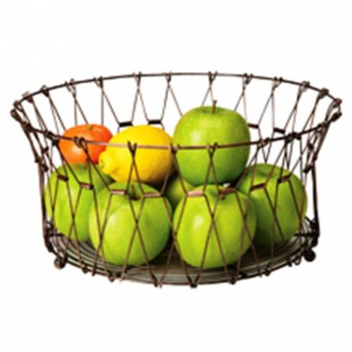 Folding Wirework Fruit Basket / Bowl