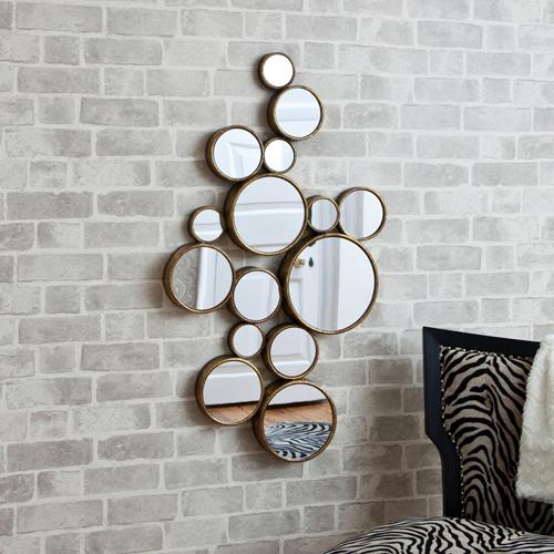 Funky Circles Mirror