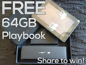 Playbook competition ends 31/10/13