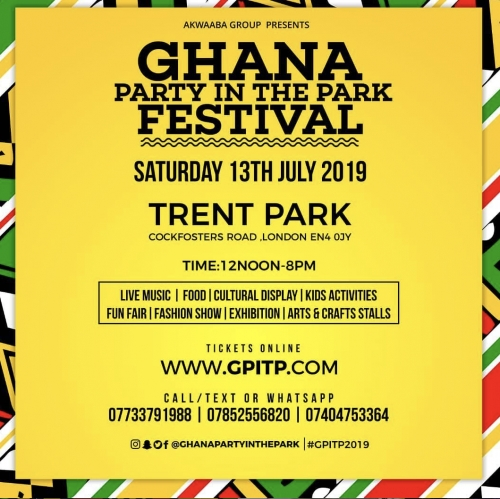 Ghana Party in the Park Festival