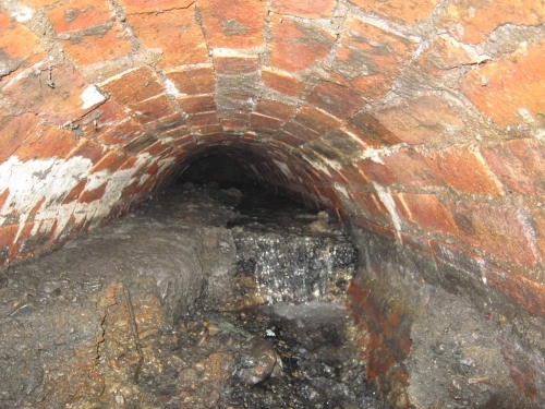 We Had To Abandon Our Cctv Survey In This Sewer