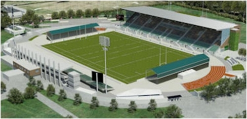 Allianz Park Architectural Model