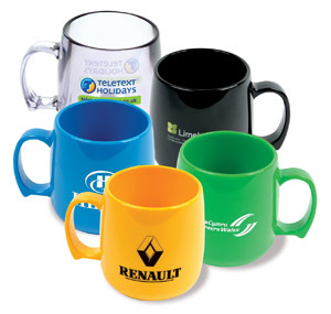 Acrylic unbreakable mugs