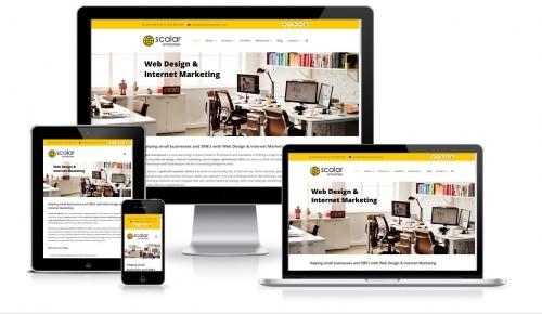 Scalar Enterprises Web Design