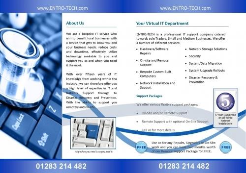 Inside the brochure