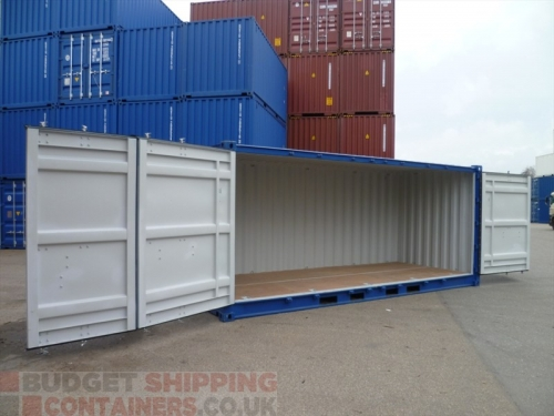 20ft Side Opening Shipping Containers for Sale