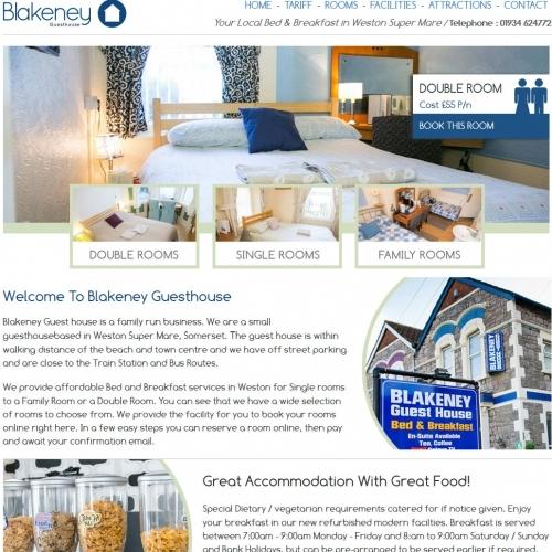 Blakeney Guesthouse Website