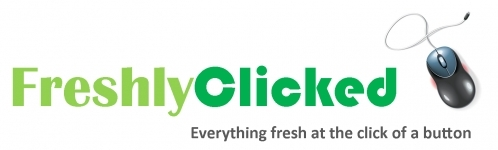 Logo created for Freshly Clicked