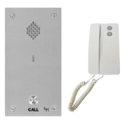 BPT 1 Way Vandal Resistant Panel with Agata Handset