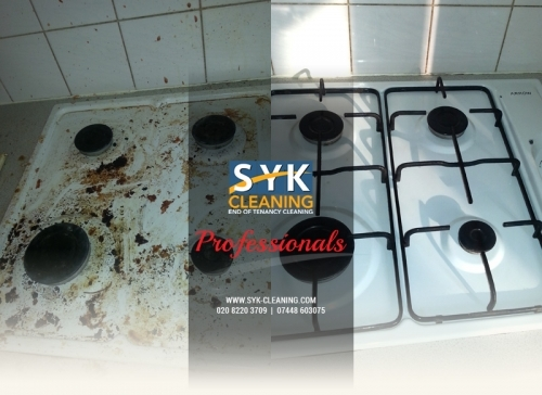Syk Cleaning Kitchen