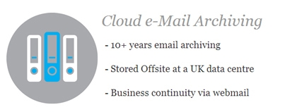 Cloud e-Mail Archiving