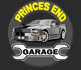 Princes End Garage Logo