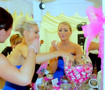 Sweetie Cart available for hire. Call 01250 873237