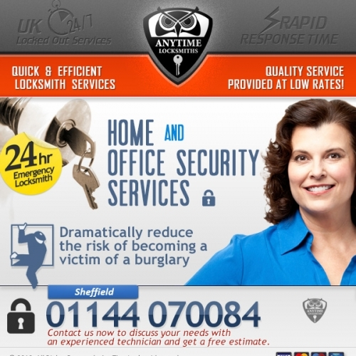 Anytime Locksmiths Security Solutions