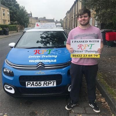 RPT Driver Training Driving Lessons Halifax Joshua Stead