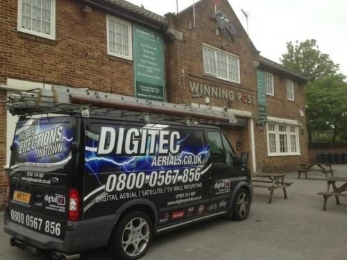 Main photo for Digitec Aerials - Digital Aerial Installers Nottingham