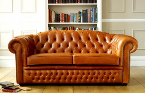 Oxley Classic Leather Chesterfield