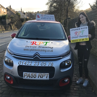 RPT Driver Training Driving Lessons Halifax Taylor Armstrong