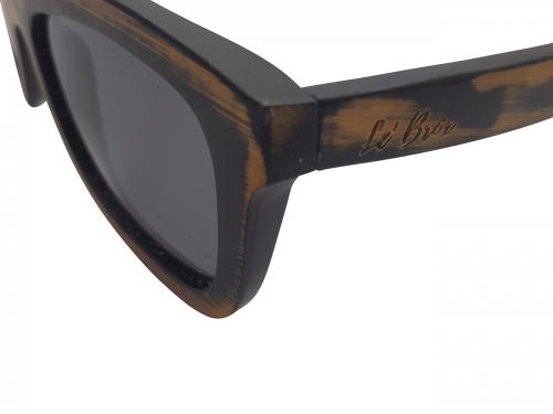 Le' Brox Handmade Vintage Style Painted Bamboo Mayfair Sunglasses M17-1