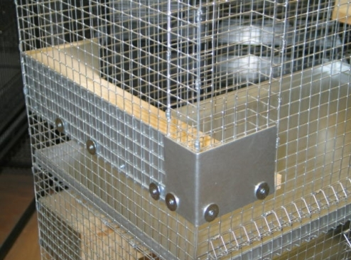 Img 2674 Hay Rack Shelf Guard