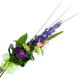 modern tied bouquet from £22.50