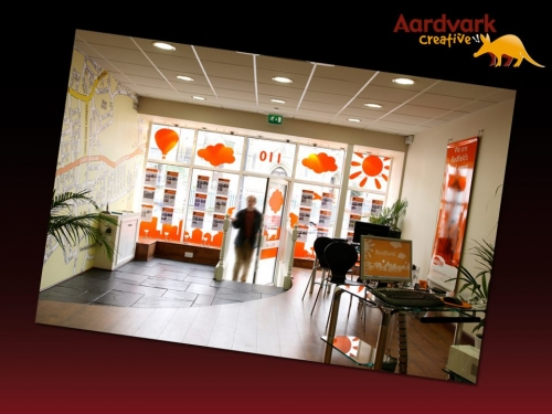 House & Co, Bristol - digital wallpaper, window vinyl, screen printed posters, PC desktop wallpaper