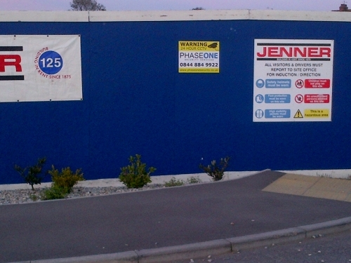 Jenner Construction Security Guard Company Mobile Patrols And Key Holding Service Uk