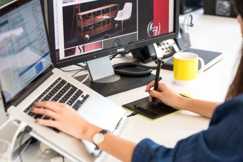 Web design at LogicSpot