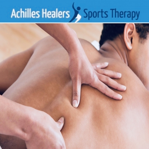 Back Massage from Achilles Healers Sports Therapy