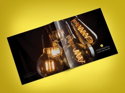 Enigma Lighting Brochure Design
