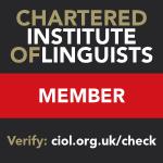 Certified French - English Translation