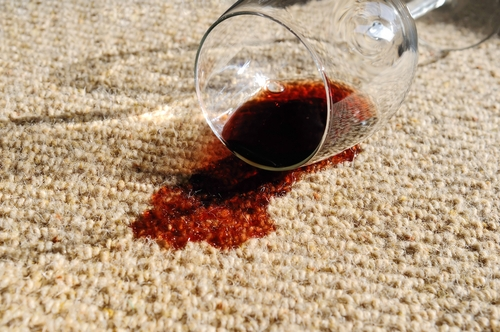 Wine Spills and other stains removed