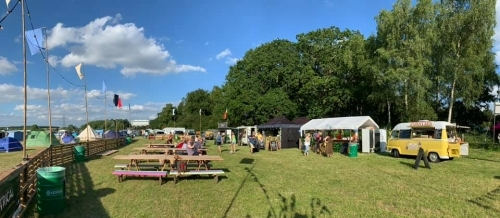Food Court at Folk in a Field Festival