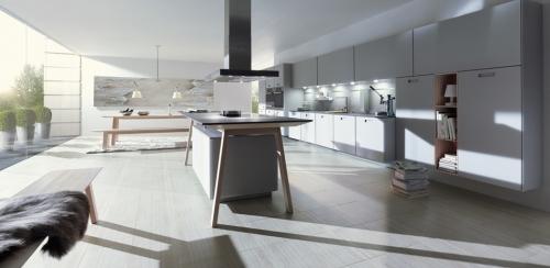 Next125 kitchen - Glass Matte Stone Grey