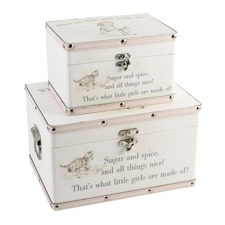 Girls Keepsake Boxes