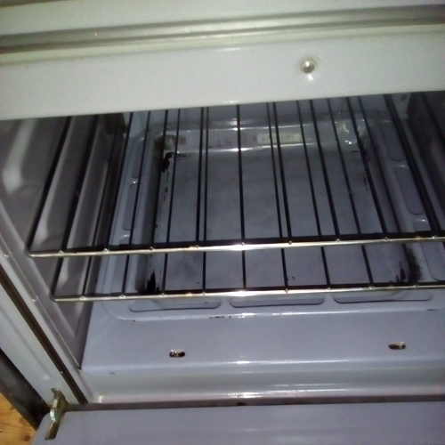 Oven cleaning - after
