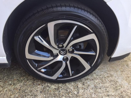 Citroen Alloy Wheel Repairs