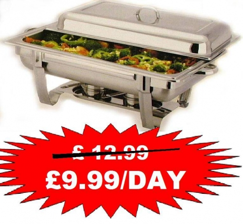 chafing dishes hire